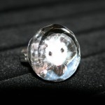Opossum Glass Ring