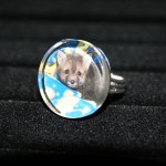 Kippy Fox Glass Ring
